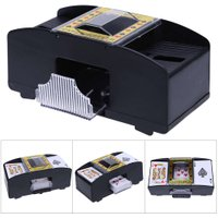AUTOMATIC PLAYING CARDS SHUFFLER POKER CASINO ONE/TWO DECK CARD SHUFFLE SOR